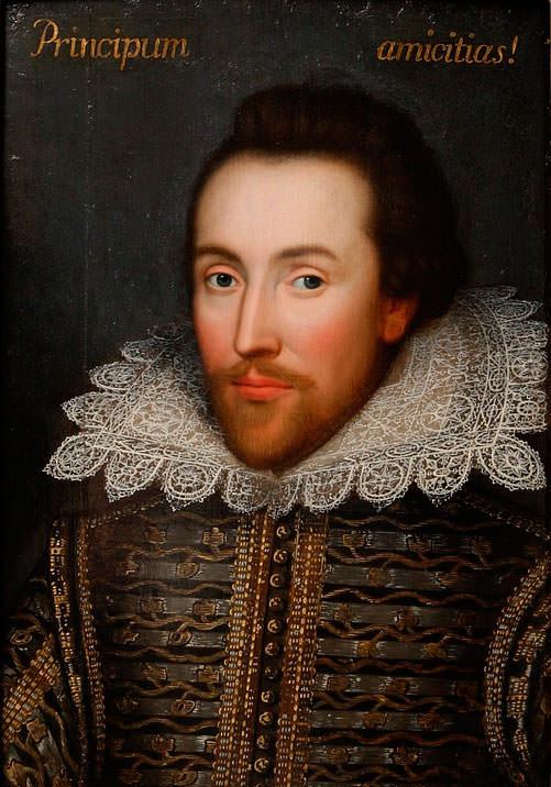 Портрет Шекспир
