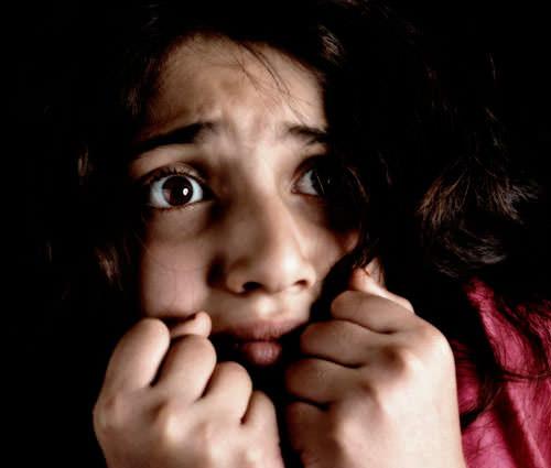Ребёнок испытывает страх